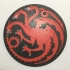 Game of Thrones Pennant of House Targaryen Coaster primary image