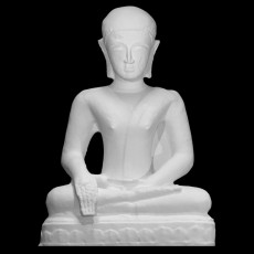 Buddha in the earth-touching gesture