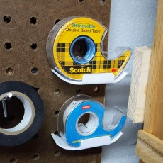 Picture of print of Peg Anything // Scotch Tape Holder
