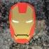 Iron Man Coaster print image
