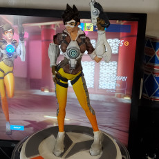 Picture of print of Overwatch - Tracer Full Figure