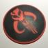 Star Wars Mandalorian Emblem Coaster / Plaque image