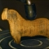 Carved wood horse image