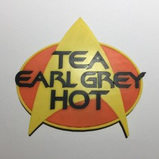Star Trek 'Tea, Earl Grey, Hot' Coaster