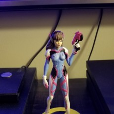 Picture of print of Overwatch - D.Va Full figurine