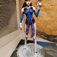 Picture of print of Overwatch - D.Va Full figurine