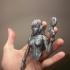 Overwatch - D.Va Full figurine print image