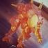 Overwatch - D.Va & Meka - Victory Pose print image