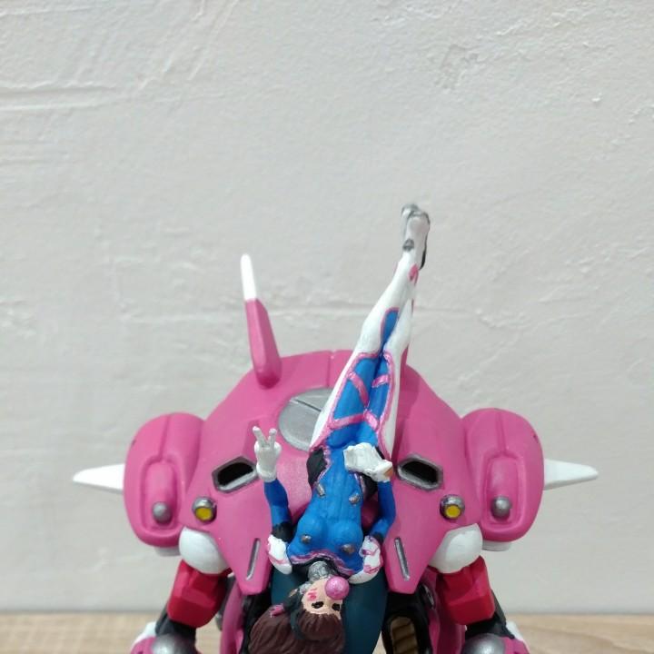 Overwatch - D.Va & Meka - Victory Pose