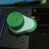3D Printer Gear Knob with Fine Tuning Dial print image