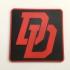 Daredevil Logo Coaster image