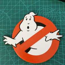 Picture of print of Ghostbusters Logo Coaster