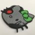 'Hello Borgy' Coaster image