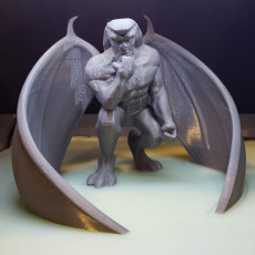 Picture of print of Goliath from Gargoyles