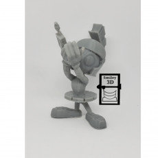Picture of print of Marvin the Martian from Looney Tunes