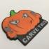 'Carve This' Pumpkin Coaster image