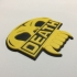 Judge Death Badge Coaster image