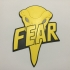 Judge Fear Badge Coaster image
