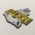 Judge Mortis Badge Coaster image