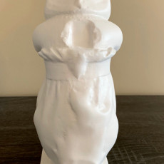 Picture of print of Statue of a priestess of isis