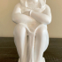 Statue of a priestess of isis print image
