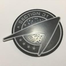 Star Trek Section 31 Logo Coaster