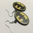 Batman Logo Earrings image