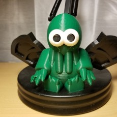 Picture of print of Little Cthulhu