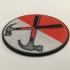 Pink Floyd 'The Wall' Hammer Logo Coaster image