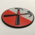 Pink Floyd 'The Wall' Hammer Logo Coaster image
