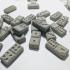 Flexi-Moulds for Concrete Dominoes image
