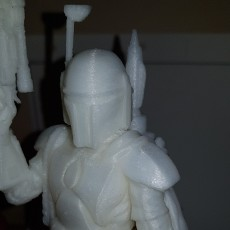 Picture of print of Star Wars - Boba Fett The Bounty Hunter - 75 mm scale model