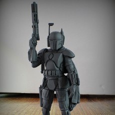 Star Wars - Boba Fett The Bounty Hunter - 75 mm scale model