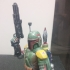 Star Wars - Boba Fett The Bounty Hunter - 75 mm scale model print image
