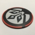 Star Wars Rebels ISD Chimera Emblem Coaster image