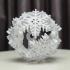 Vase Mode Origami Snowflake Bauble image