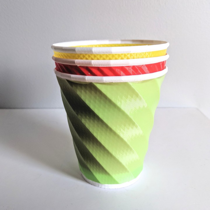 Coffee Cups (and Crazy Vase Mode Fun!)
