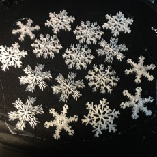 Picture of print of 35 Snowflakes