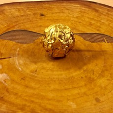 Picture of print of Golden Snitch Wings (or Moth Antennae?)