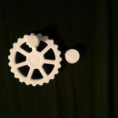 Picture of print of Z-axis Adjustment Knob Mod for CR-10 and other printers with Z-thread