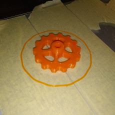 Picture of print of Manual Filament Feeder Extruder Gear Knob Mod for CR-10 and other Bowden 3D Printers