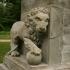 Lion afstobning Fredensborg castle garden image