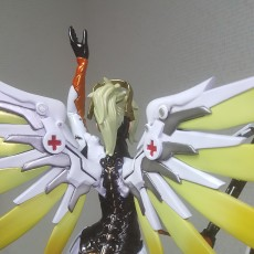 Picture of print of Overwatch - Mercy Full Figure - 30 cm tall