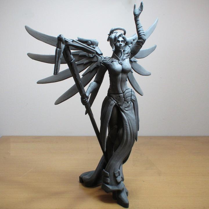 Overwatch - Mercy Full Figure - 30 cm tall