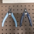 Peg Anything // Flush Cutter, Pliers, Clippers Holder image