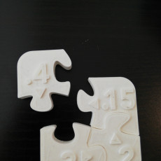 Picture of print of Printer Clearance Test Puzzle