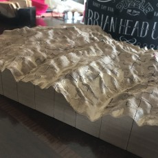 Picture of print of 3D Puzzle // Death Valley