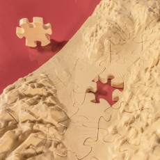 3D Puzzle // Death Valley