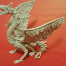 Picture of print of Dragon // VR Sculpt