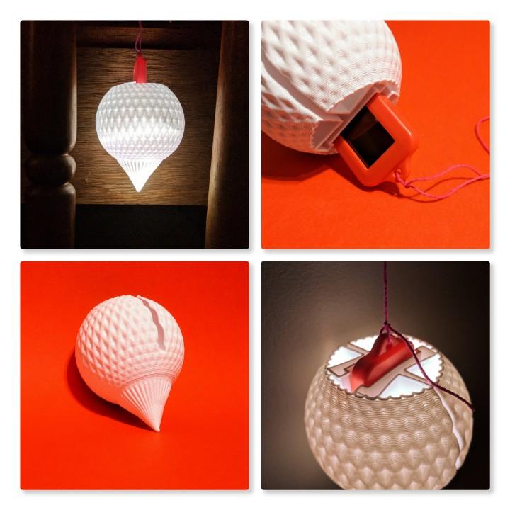 Solar Keyring Lantern